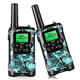 Walkie Talkies for Kids, 22 Channel 2 Way Radio 3 Miles Long Range Handheld Walkie Talkies for 4 5 6 7 Year Old Boys and Girls
