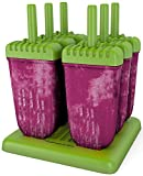 Popsicle Molds Ice Pop Maker Tupperware Quality 6 Pieces BPA Free Clearance Sale