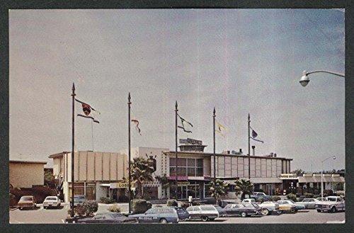 Hillsdale Inn Bayshore Freeway San Mateo CA postcard - Mateo San Hillsdale