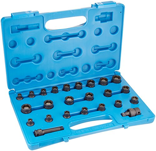 Grey Pneumatic 1224G 24-Piece 3/8 in. Drive 6-Point SAE and