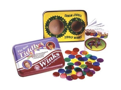 Tiddly Winks in a Classic Tin