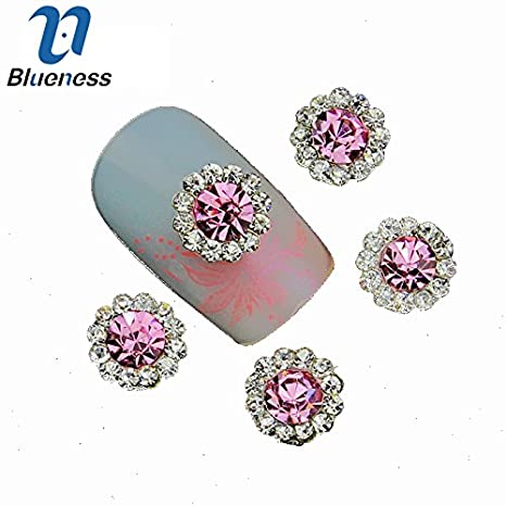 Buy Fission Tn906 10 Pcslot 3d Colorful Jewelry Nail Art