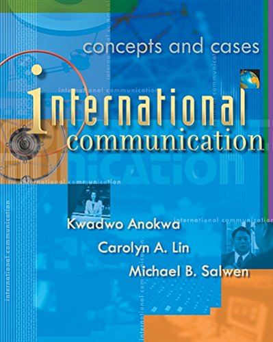 International Communication: Concepts and Cases