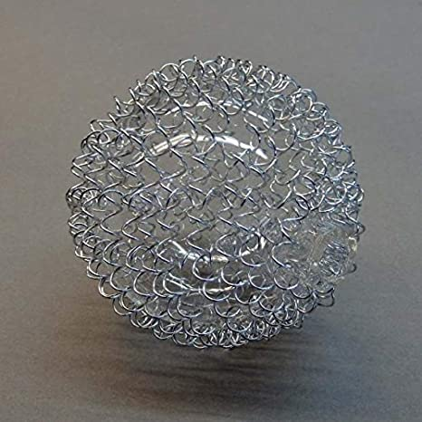 Lámpara Cristal 6345 para pantalla de alambre de cristal pantalla – Pantalla de Cristal de recambio para lámpara colgante bola de cristal