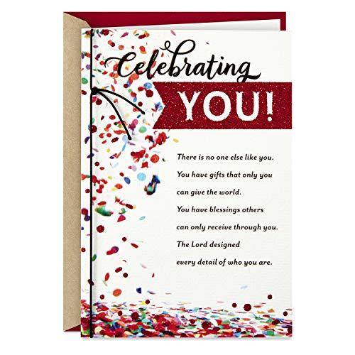 (Hallmark DaySpring Religious Birthday Card (Celebrating)