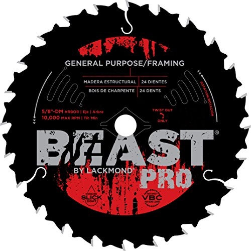 Lackmond Beast Pro General Purpose Framing Saw Blades - 6 1/2