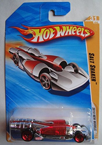 HOT WHEELS 2010 NEW MODELS RED/CHROME SALT SHAKER 31/44