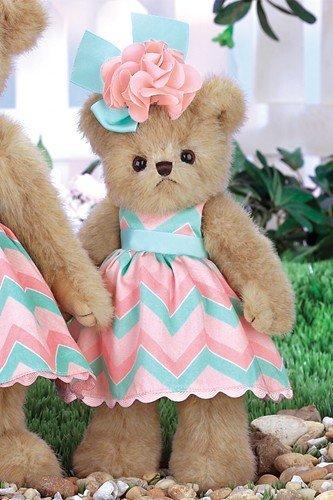 - Bearington Peachy Dressed Teddy Bear Stuffed Animal Toy 10