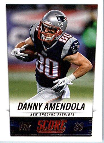 2014 Score Football Card #129 Danny Amendola - New England Patriots
