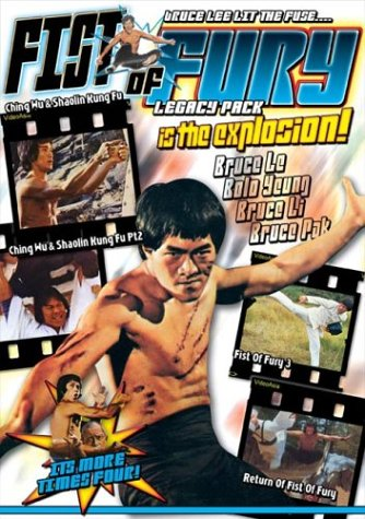 Fists of Fury Legacy Pack (Return of Fist of Fury / Fist of Fury 3 / Chung Wu & Shaolin Kung Fu Parts 1 & 2)