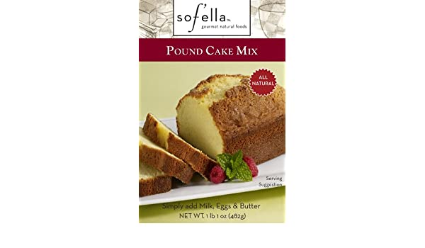 Amazon.com : Sof Ella Pound Cake Mix, 17-Ounce (Pack of 6) : Grocery & Gourmet Food