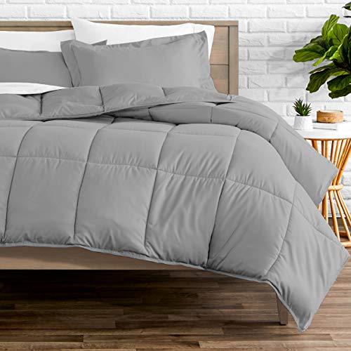 Bare Home Comforter Set – Queen Size – Goose Down Alternative – Ultra-Soft – Premium 1800 Series – Hypoallergenic – All…