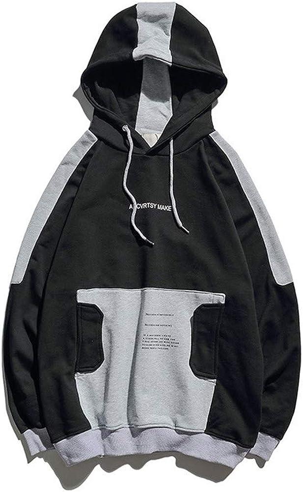 JLK Ijik Ullover Sweater Unisex Couple Print Hip Hop Loose Hooded Shirt WE0042
