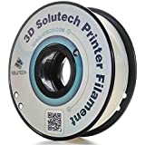 3D Printer PLA Filament 1.75MM Filament, Dimensional Accuracy +/- 0.03 mm, 2.2 LBS (1.0KG) - 3D Solutech (Glow in the Dark)