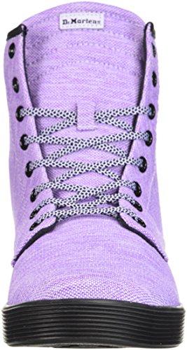 Dr. Dr. Martens Kvinders Sheridan Fashion Boot Purple Heather Woven Textile Mår Kvinders Sheridan Mode Boot Lila Grå Vævet Tekstil CS6i5