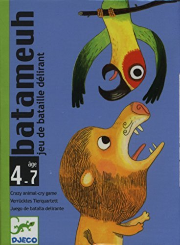 Amazon.com: Djeco Card Game - Batameuh by Djeco: Toys & Games