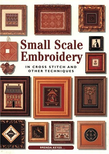 Small Scale Embroidery: In Cross Stitch and Other Techniques (Crafts)