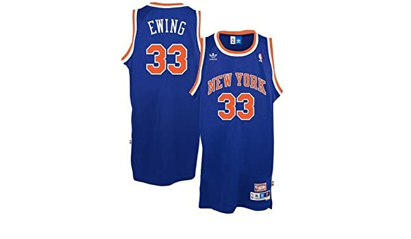 328d6887b0d Amazon.com   Patrick Ewing New York Knicks  33 NBA Swingman Adidas Hardwood  Classics Throwback Blue Jersey XXX-Large   Athletic Jerseys   Sports    Outdoors