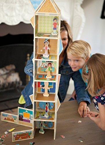 Build & Imagine: Malia's House (award-winning magnetic dollhouse you design yourself) by Build & Imagine (Image #7)