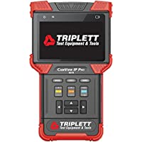 Triplett CamView IP PRO Ruggedized IP & Analog NTSC/PAL Camera Tester with Built-In DHCP Server