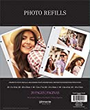 Pinnacle Magnetic Photo Album Refills, 10 - 2 sided pages pack