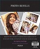 magnetic photo sheets - MAGNETIC PHOTO ALBUM REFILL SHEETS, 10PK