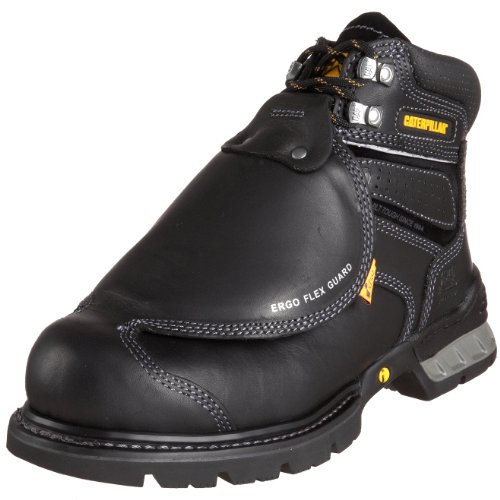 Caterpillar Men's Ergo Flexguard Boot,Black,9.5 M US