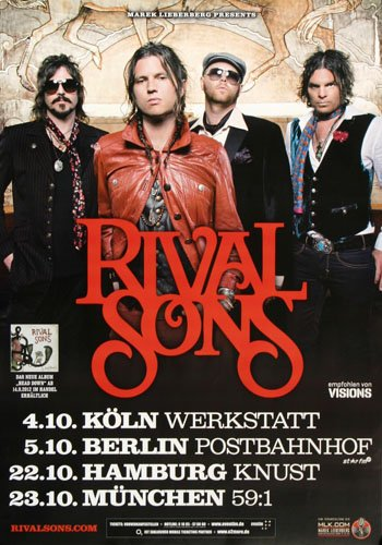 rival sons poster - 1