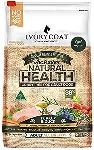 Ivory Coat Adult and Senior Turkey & Duck 13kg Grain Free Dog Food