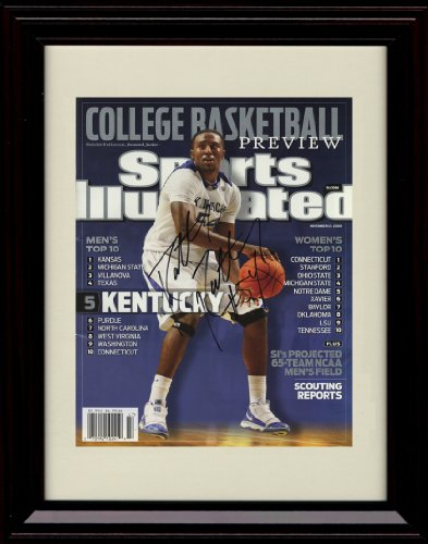 Patterson Autographs (Framed Kentucky Wildcats Sports Illustrated Autograph Replica Print - Patrick Patterson)