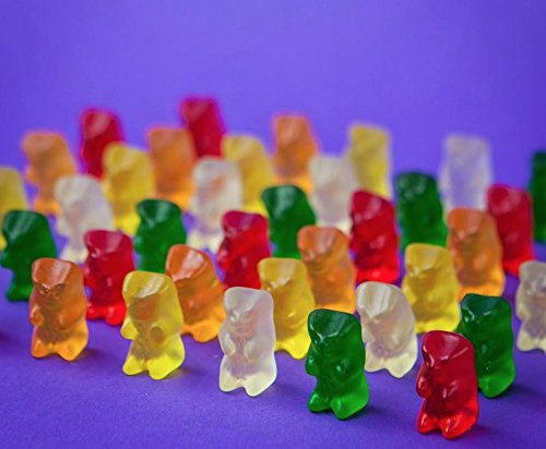 Haribo Goldbears Original Minis, 54-Count Bears in mini bags in 22.8 oz. tub (Pack of 8) by Haribo (Image #7)