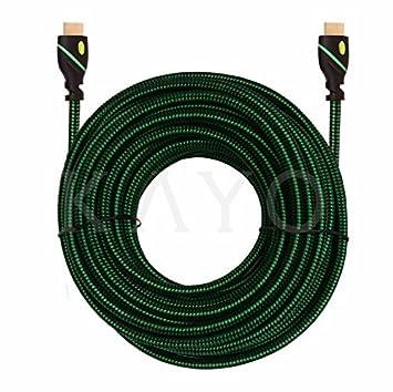 HDMI Cable 50 ft – Cable HDMI de alta velocidad, Kayo HDMI2.0 (