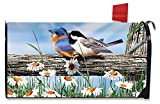 Briarwood Lane Spring Break Birds Mailbox Cover Bluebird Chickadee Standard