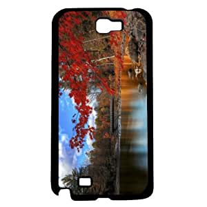Autumn Season Change Hard Snap on Case (Galaxy Note 2 II)