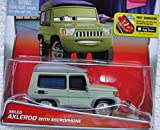 DISNEY PIXAR CARS TOKYO PARTY MILES AXLEROD WITH MICROPHONE 9/10