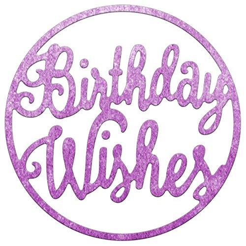 Wishes Circle (Cheery Lynn Designs B783 Birthday Wishes Circle Die Set)