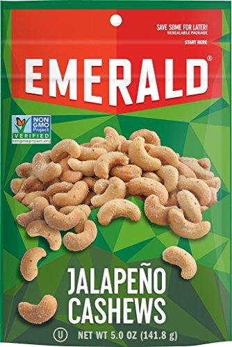 Emerald Jalapeno Cashews Stand Resealable