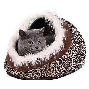 Amazon.com : Pet Dog Bed Warm Dog Cat Nest Bed Fashion