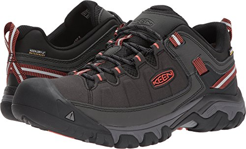 - KEEN Men's Targhee Exp Wp-m Hiking Shoe, Raven/Burnt Ochre, 11 M US