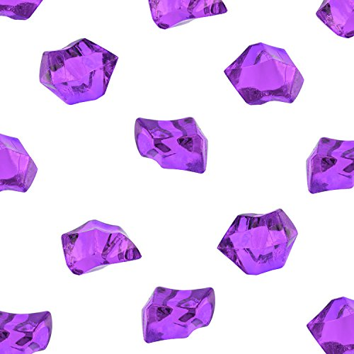 Compare price to plastic purple gems for Plastic gems for crafts
