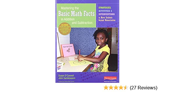 Amazon mastering the basic math facts in addition and amazon mastering the basic math facts in addition and subtraction strategies activities and interventions to move students beyond memorization fandeluxe Image collections