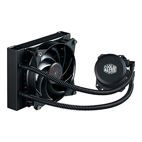 Cooler Master MasterLiquid Lite 120 All-in-one CPU Liquid Cooler with Dual Chamber Pump, INTEL/AMD with AM4 Support