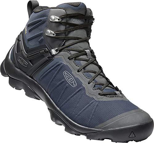 KEEN - Men's Venture Mid Waterproof Hiking Boot, Blue Nights/Raven, 9.5 US
