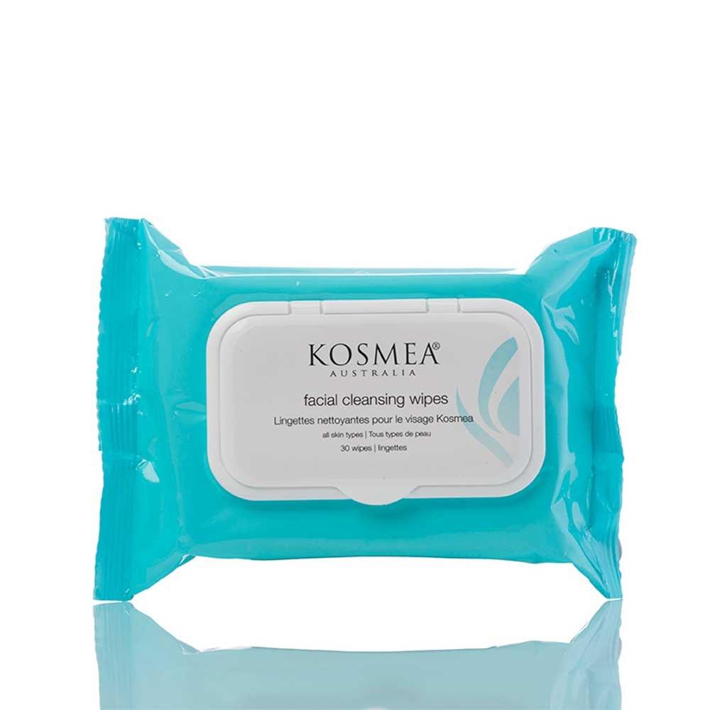 Kosmea Facial Wipes, 30 Count
