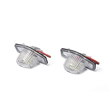 Kit de Repuesto OEM para luz de matrícula LED para Honda CRV: Amazon.es: Coche y moto