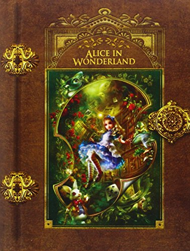 MasterPieces Alice in Wonderland Puzzle, Art by Shu, 1000-Piece