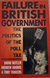 Failure in British Government 9780198278764