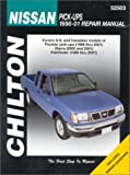 Chilton's Nissan Pick-Ups, 1998-01 Repair Manual, Jeff Kibler, 1563924560