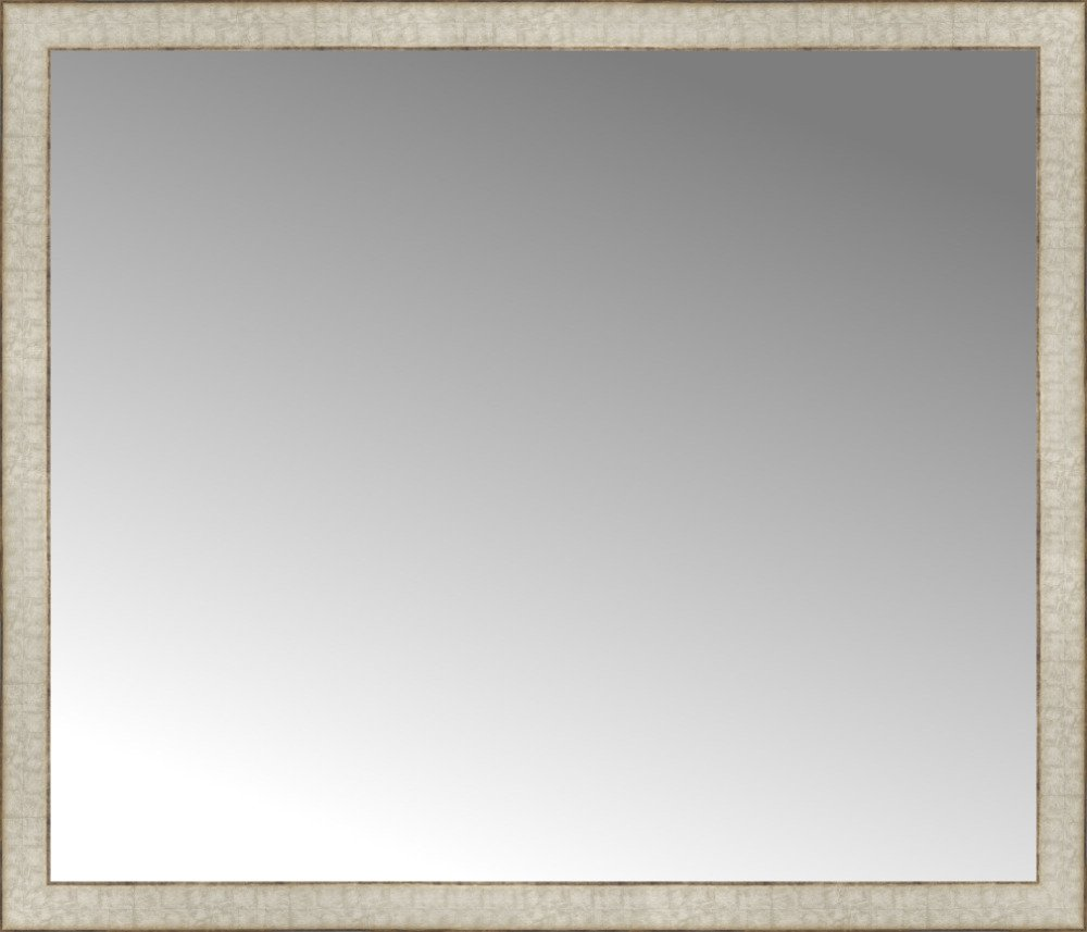 Amazon 42 x 36 white wide cube custom framed mirror home amazon 42 x 36 white wide cube custom framed mirror home kitchen jeuxipadfo Image collections