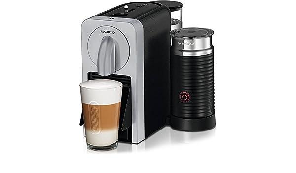 Nespresso prodigio y espumador de leche - Cafetera de espresso con Smartphone App conectividad: Amazon.es: Hogar